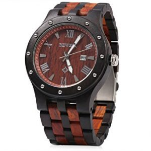 Bewell GBlife W109A Men Wooden Quartz