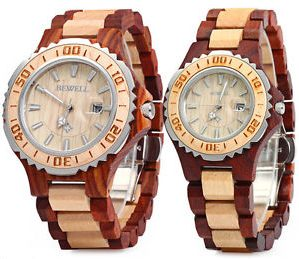 Bewell ZS-100B Couple Quartz Watch