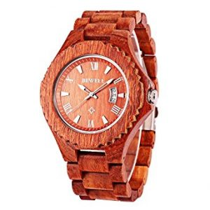 bewell GBlife W129A Men's Wooden Watch