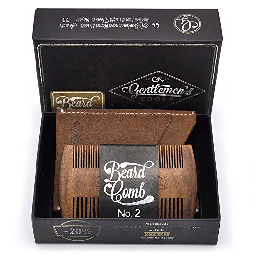 Gentlemen's Tools Beard & Hair Comb for Men review