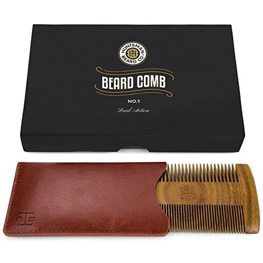 Huntsman Beard Dual Action Beard Comb & Protective Sleeve Review