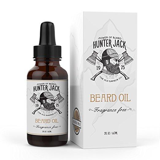hunter jack beard oil