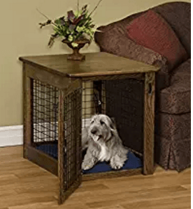 Chew Proof Dog Crate Amish Wooden - Luxurious & Decorative Dog Crate