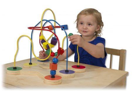 Melissa and doug wooden bead maze review