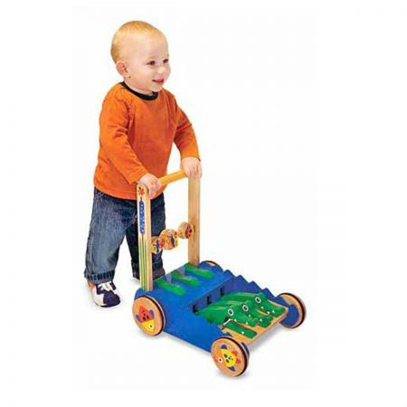 Wooden Push Toy for 1 year olds