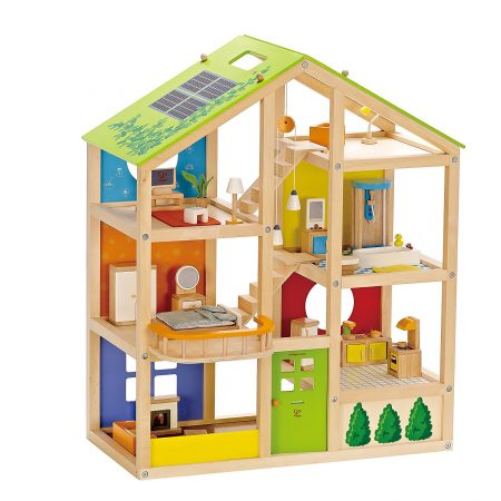 hape wooden doll house review