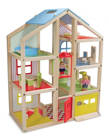 melissa & DoHi-Rise Wooden dollhouse