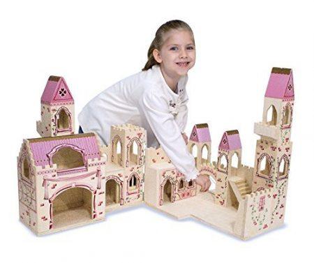 melissa & Doug Princess Castle wooden doll house review