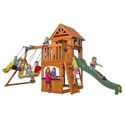 Discovery Atlantis Wood Swingset Review