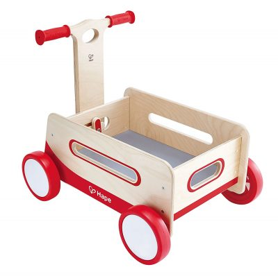Hape Red Wonder Wagon Wooden 1