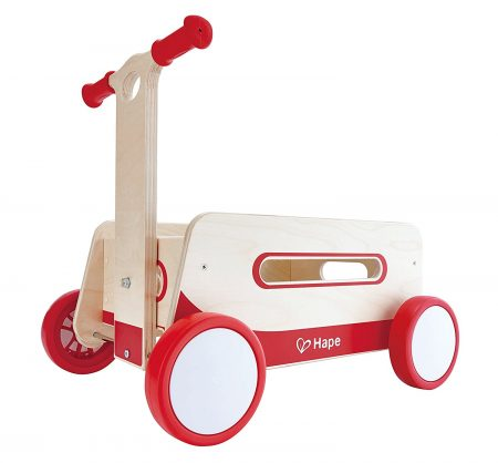 Hape Red Wonder Wagon Wooden 2