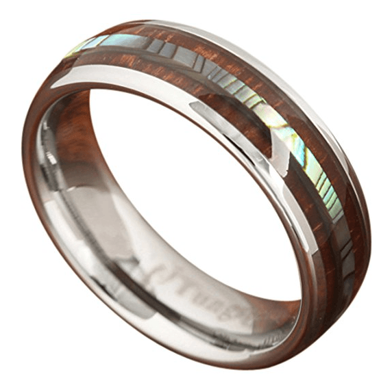 Northern Royal Koa wood tungsten ring review