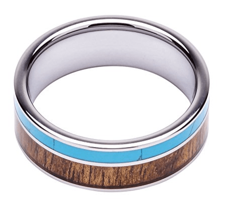 woodie specs tungsten koa wood ring review 1