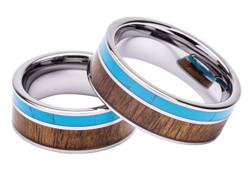 woodie specs tungsten koa wood ring review 2
