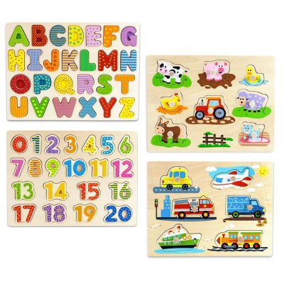 professor popular wooden puzzle for toddlers 2