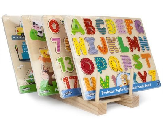 professor popular wooden puzzle for toddlers