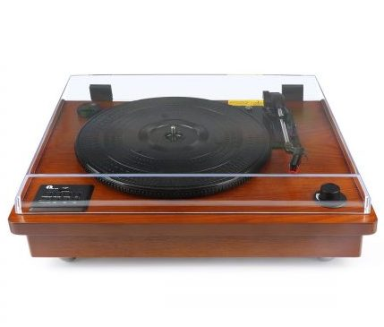 1byone wooden record review 1