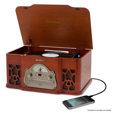electrom home wooden record player review 1